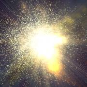 a sun explodes
